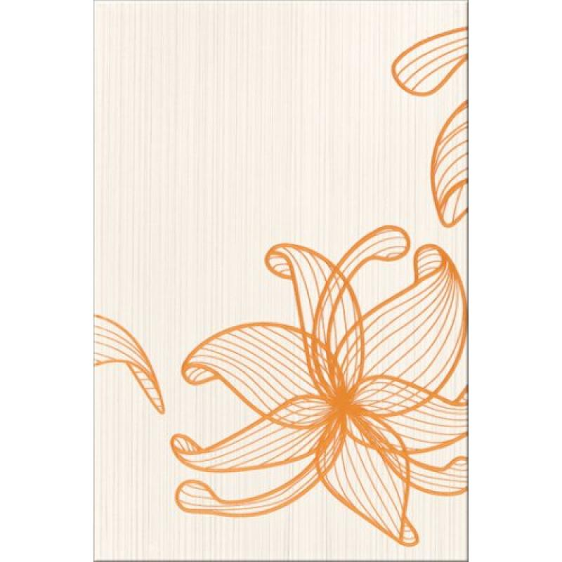 Декор Opoczno Lorena Orange Flower A OD025-018